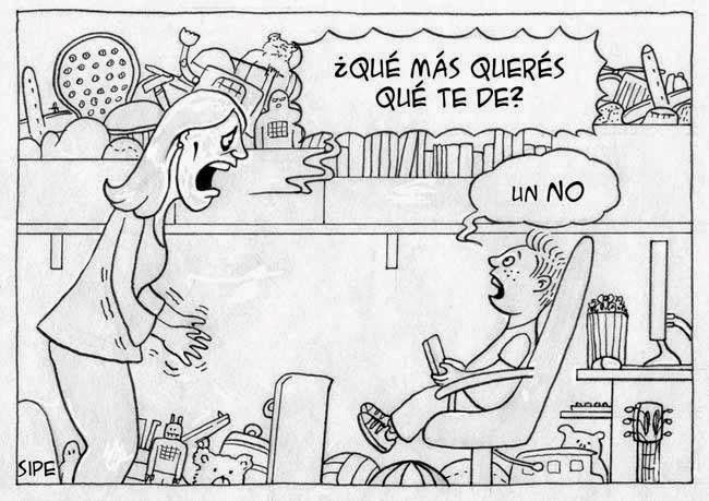 más 'no(s)'